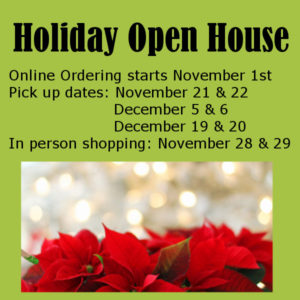 Holiday Open House Vendors